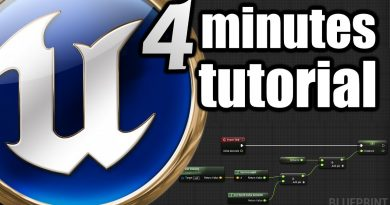 Unreal Engine 4 Minutes Beginner TUTORIAL for Beginners Distance measurement, Delta Seconds PART 2