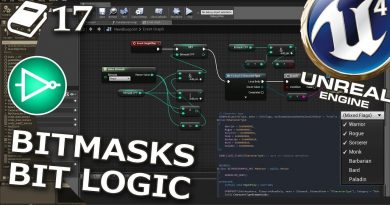 Bitmasks, bitwise operations, bit logic in Unreal Engine 4