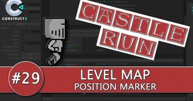 Construct 3 Tutorial #29 - CASTLE RUN - Map Position Marker