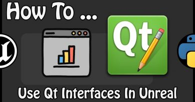 UE 4.21 - How To Use Qt Interfaces In Unreal And Use The Tick Inside The Editor