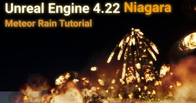 Unreal Engine 4 Niagara Meteor Rain Tutorial