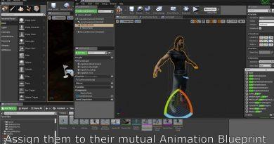 Unreal Engine 4 - Change Clothes & Body Parts [TUTORIAL]