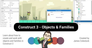 Construct 3 - Objects & Families