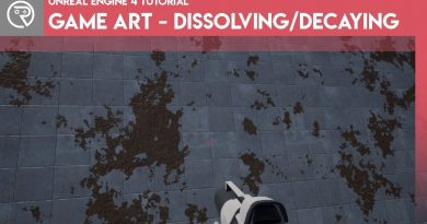 Unreal Engine 4 Tutorial - Game Art - Decay/Dissolve Effect
