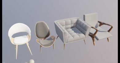 modeling ikea furniture in blender 2.8 chair 1 tutorial with chill music