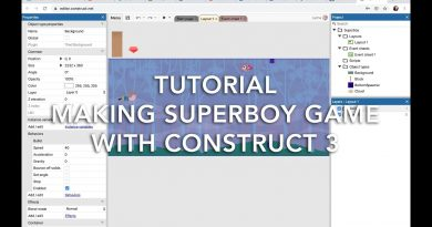Tutorial Making Superboy Game With Construct 3