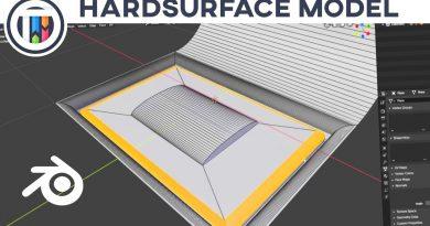 Blender 2.8 Tutorial - Hard Surface Modeling