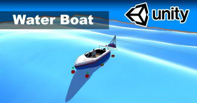 Boat Controller - Unity Ocean Tutorial 4/4