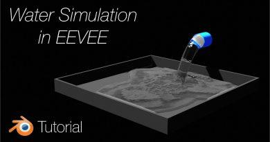 [2.8] Blender Tutorial: Water Simulation in EEVEE, REMASTERED