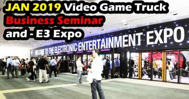 Business Seminar 2019 will you attend? Video Game truck and E3 Convention