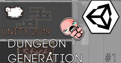 Binding of Isaac Procedural Dungeon Generation Part 1 - Unity 2019 Beginner Tutorial