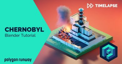 Chernobyl - Blender 2.8 Low Poly 3D Modeling Tutorial