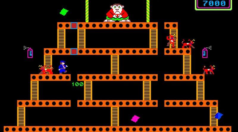 Monkey Business Amiga 1000 Kickstart 1 1 game   Other Valley Software 1985