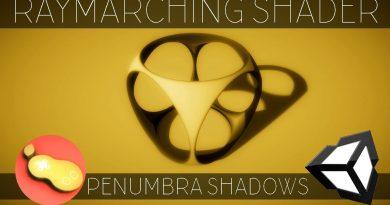 "Raymarching Shader - Unity CG/C# Tutorial _Chapter[7] = ""Penumbra Shadows""; //PeerPlay"