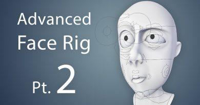 Creating an Advanced Face Rig Pt. 2 (Blender 2.6 Tutorial)
