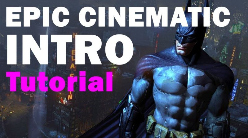 How to make a CINEMATIC intro in UNREAL ENGINE 4 - tutorial