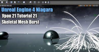 Unreal Engine 4 Niagara   Tutorial 21 Skeletal Mesh Burst