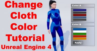 Change cloth color Menu   Tutorial   Random Character   Unreal Engine 4 Tutorial