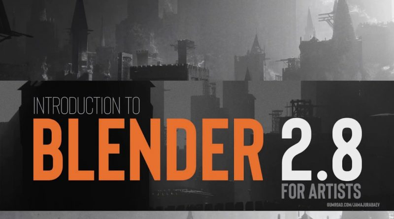 Introduction to Blender 2.8 tutorial trailer