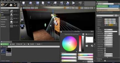 Unreal Engine 4 - FNaF game tutorial #5 - Phone calls!