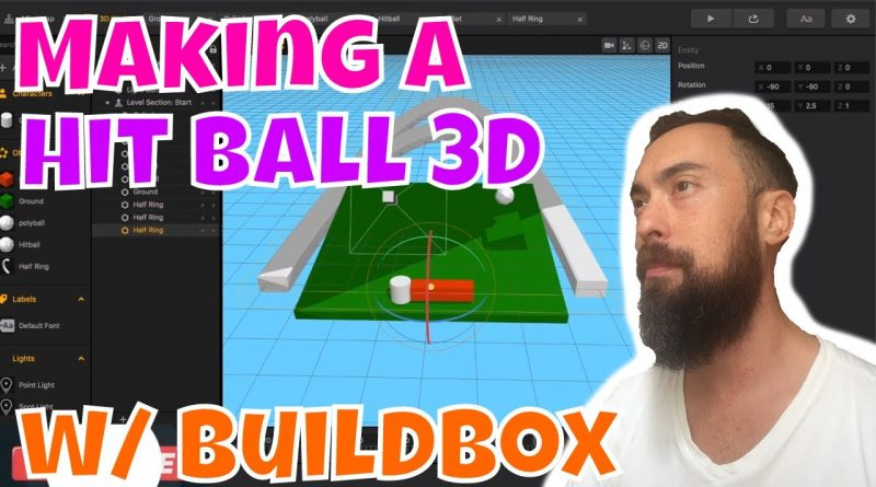 Game Dev Log: How to make Hit Ball 3D Game Buildbox Tutorial