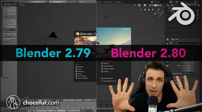 10 TIPS to QUICKLY switch to NEW Blender 2.8 (changes tutorial)