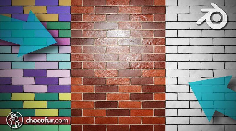 Brick Material in Blender 2.8 - Shaders Tutorial (Eevee)