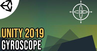 Using your phone's Gyroscope [Tutorial][C#] - Unity tutorial 2019