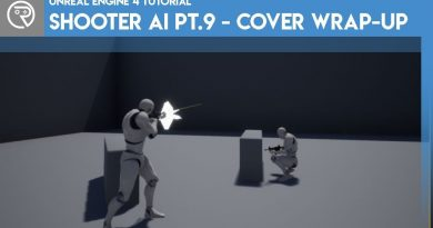 Unreal Engine 4 Tutorial - Shooter AI Pt.9 - Cover Wrap-up
