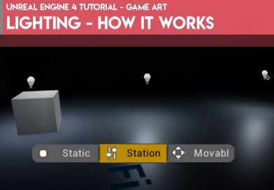 Unreal Engine 4 Tutorial - Game Art - Lighting - How it Works
