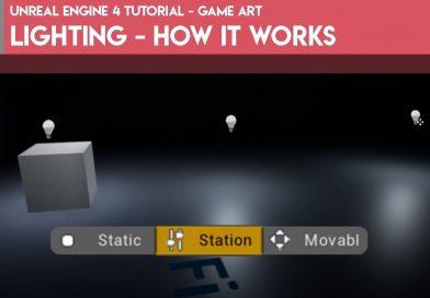 Unreal Engine 4 Tutorial - Game Art - Lighting - How it Works