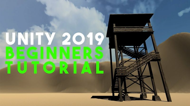 UNITY 2019 Beginners Tutorial (Basics)