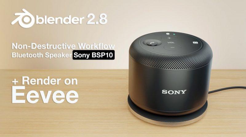 Sony BSP10 - Non-destructive Workflow - Blender Tutorial