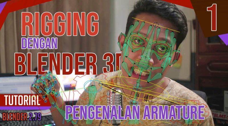 Tutorial Rigging Karakter Dengan Blender Pt1 - Pengenalan