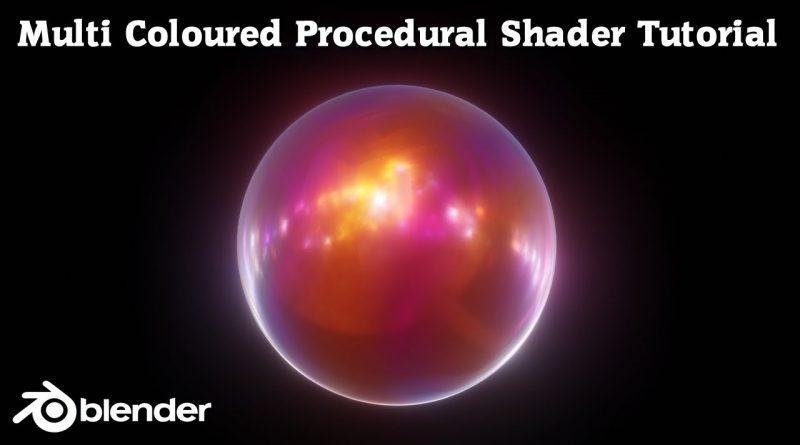 Blender Shader Tutorial - Blender 2.8