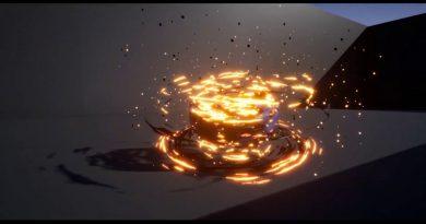 Unreal Engine 4 - Fireball Tornado VFX Study/Breakdown