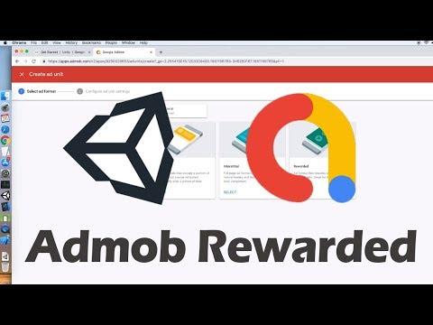 Unity Admob Rewarded Ads Tutorial