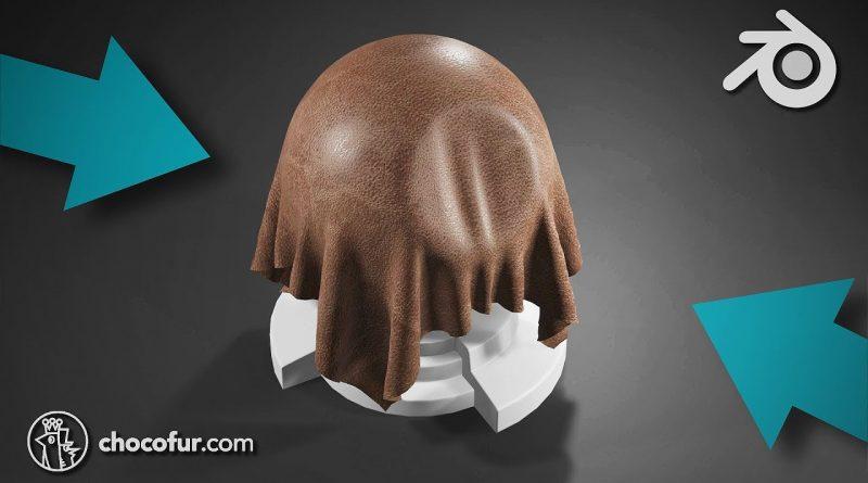 Leather Shader in Blender 2.8 - Materials Tutorial (Eevee)
