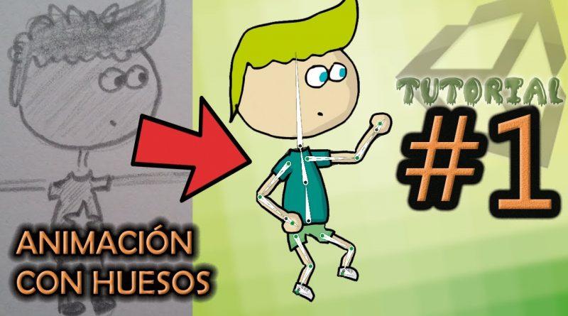 #1: Crear personaje 2D con huesos. Animar nuestra propia foto.  [Unity, tutorial completo]