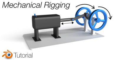 [2.8] Blender Tutorial: Mechanical Rigging Made Simple