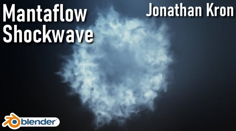 Blender Mantaflow Shockwaves 2.82 [Simple Tutorial] | English