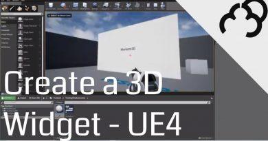 Unreal Engine 4 Tutorial - 3D Widget