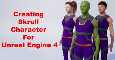 Creating Skrull Character For Unreal Engine 4