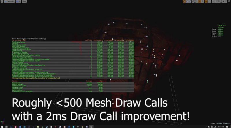 Unreal Engine 4 - Instance Tool Optimization // Quick Tutorial
