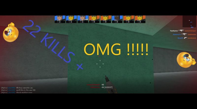 My Best Gameplay at Bad Business Gun Game (CoD Roblox)