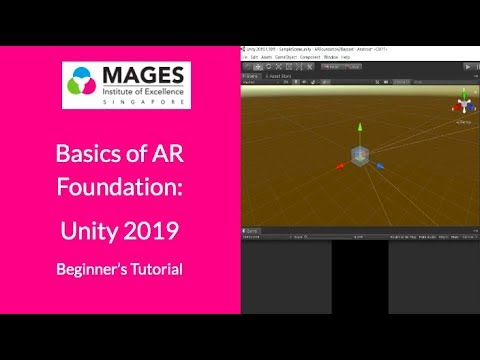 AR Foundation: Unity 2019 - Spawn Objects | Tutorial Video