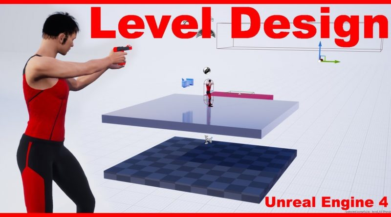 Level Design | Third Person Shooter | Unreal Engine 4 Tutorial