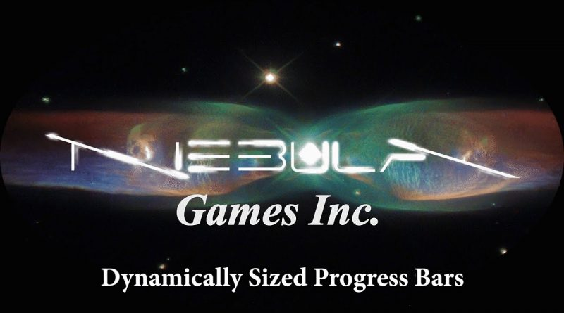 Unreal Engine 4 Tutorial: Dynamically Sized Progress Bars #dynamic #progress #size