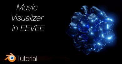 [2.8] Blender Tutorial: Music Visualizer in EEVEE