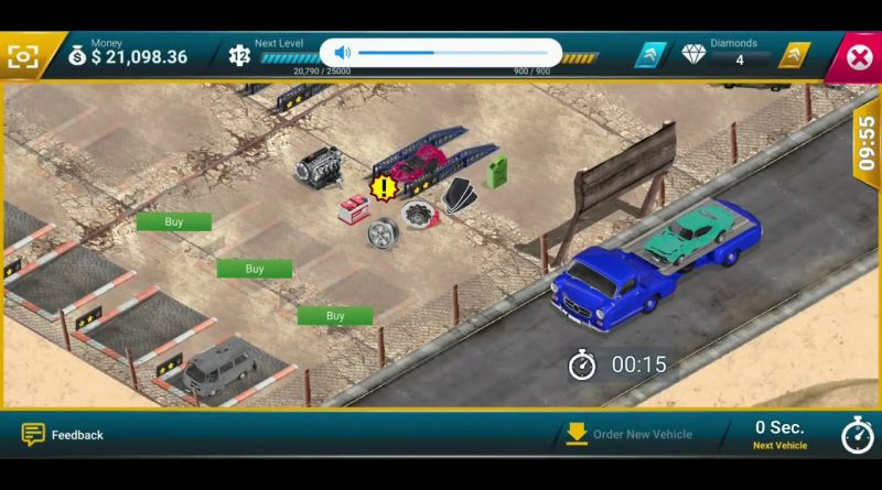 Junkyard Tycoon Business Simulation #6 - Business Game Simulator Android GamePlay FHD